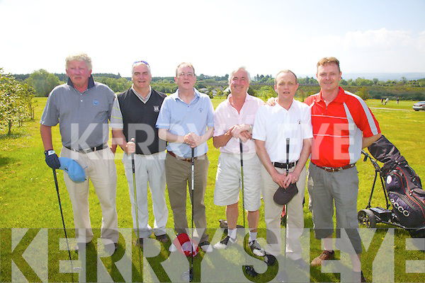 The Waterville team who played in the Kerry Shield at Castleisland Golf Club on Saturday pictured l-r; Hugh Mullins, Mike Gill, John Fleming, Johnny Morris, Eamon McGillicuddy & Alan Landers.