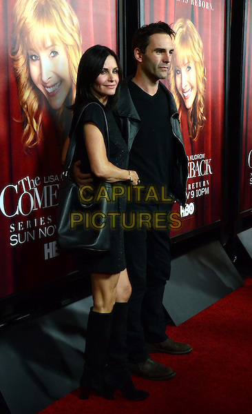 5 November 2014 - Hollywood, California - Courteney Cox, Johnny McDaid. Los Angeles Premiere of HBO series &quot;The Comeback&quot; held at El Capitan Theater. <br /> CAP/ADM/TW<br /> &copy;Tonya Wise/AdMedia/Capital Pictures