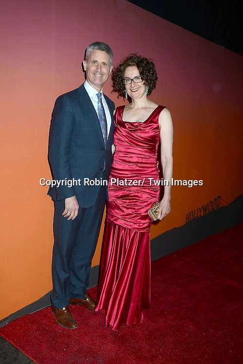 Doug and Dalia Waterman attends the 2013 Whitney Gala & Studio party honoring artist Ed Ruscha on October 23, 2013 at Skylight at Moynihan Station in New York City.