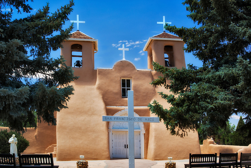 San Francisco de Asis Catholic Church. Taos New Mexico