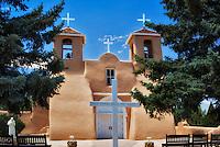 San Francisco de Asis Catholic Church. Taos New Mexico