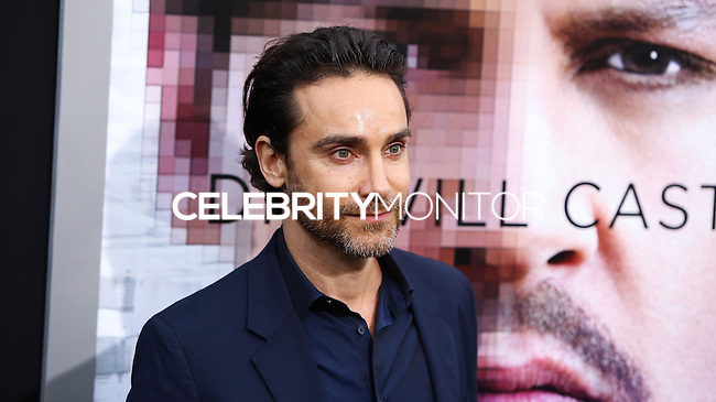 "WESTWOOD, LOS ANGELES, CA, USA - APRIL 10: Antonio Del Prete at the Los Angeles Premiere Of Warner Bros. Pictures And Alcon Entertainment's ""Transcendence"" held at Regency Village Theatre on April 10, 2014 in Westwood, Los Angeles, California, United States. (Photo by Xavier Collin/Celebrity Monitor)"