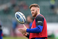 Max Wright of Bath Rugby looks on during the pre-match warm-up. Gallagher Premiership match, between Bath Rugby and Wasps on May 5, 2019 at the Recreation Ground in Bath, England. Photo by: Patrick Khachfe / Onside Images