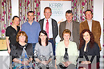 Foilmore Community Group members at the Kerry Community Awards in the Dromhall Hotel on Sunday l-r: Anne Sugrue, Maureen O'Neill, Eileen O'Shea, Anne Marie Lynch. Back row: Mary Connor, Paudie O'Neill, Tom Lynch, John O'Shea and Eugene O'Sullivan..