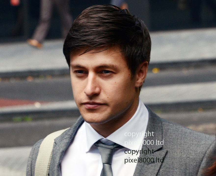 Tony Discipline EastEnders star arrives at Southwark Crown Court today where he is appearing on assault and GBH charges...He plays Tyler Moon in the EastEnders soap opera on BBC...He arrived with family members believed to be his parents......Pic by Gavin Rodgers/Pixel 8000 Ltd