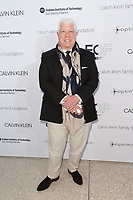 Dennis Basso arrives at the Future of Fashion 2017 runway show at the Fashion Institute of Technology on May 8, 2017.