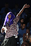 """13 October 2006: UNC's Marcus Ginyard as """"Martha Vinyard"""" during a performance. The University of North Carolina at Chapel Hill Tarheels held their first Men's and Women's basketball practices of the season as part of """"Late Night with Roy Williams"""" at the Dean E. Smith Center in Chapel Hill, North Carolina."""