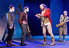 Rosencrantz &amp; Guildenstern Are Dead <br /> by Tom Stoppard <br /> at The Old Vic, London, Great Britain <br /> press photocall <br /> 3rd March 2016 <br /> EMBARGOED UNTIL 12 NOON ON MONDAY 6TH MARCH 2017 <br /> <br /> Daniel Radcliffe as Rosencrantz <br /> <br /> Josh McGuire as Guildenstern <br /> <br /> David Haig as The Player <br /> <br /> and Company <br /> <br /> <br /> Photograph by Elliott Franks <br /> Image licensed to Elliott Franks Photography Services