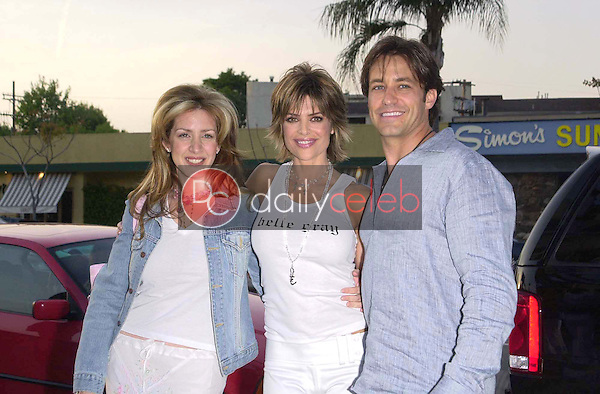Joely Fisher, Lisa Rinna and Ty Treadway
