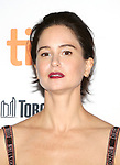 Katherine Waterston attends 'The Current War' premiere during the 2017 Toronto International Film Festival at Princess of Wales Theatre on September 9, 2017 in Toronto, Canada.