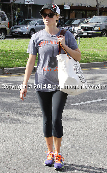 Pictured: Reese Witherspoon<br /> Mandatory Credit &copy; Ben Foster/Broadimage<br /> Reese Witherspoon leaving Yoga Classes in Brentwood<br /> <br /> 3/7/14, Brentwood, California, United States of America<br /> <br /> Broadimage Newswire<br /> Los Angeles 1+  (310) 301-1027<br /> New York      1+  (646) 827-9134<br /> sales@broadimage.com<br /> http://www.broadimage.com<br /> <br /> <br /> Pictured: Reese Witherspoon<br /> Mandatory Credit &copy; Ben Foster/Broadimage<br /> Reese Witherspoon leaving Yoga Classes in Brentwood<br /> <br /> 3/7/14, Brentwood, California, United States of America<br /> Reference: 030714_HDLA_BDG_021<br /> <br /> Broadimage Newswire<br /> Los Angeles 1+  (310) 301-1027<br /> New York      1+  (646) 827-9134<br /> sales@broadimage.com<br /> http://www.broadimage.com