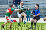 Kevin Gorman Kilcummin tackles Danny Sheahan Legion during their SFC clash in Fitzgerald Stadium on Sunday