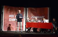 Roma, 1 Dicembre 2012.Testaccio teatro Vittora.Assemblea Cambiare si può, per l'alternativa verso le elezioni 2013.Sandro Medici candidato a sindaco di Roma