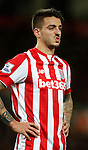 Joselu of Stoke City - Capital One Cup Quarter-Final - Stoke City vs Sheffield Wednesday - Britannia Stadium - Stoke - England - 1st December 2015 - Picture Simon Bellis/Sportimage