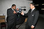 All Blacks at Parliamentary reception. Wellington, 07 June 2007.
