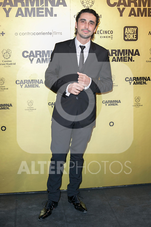 "Spanish actor Canco Rodriguez attend the Premiere of the movie ""Carmina y Amen"" at the Callao Cinema in Madrid, Spain. April 28, 2014. (ALTERPHOTOS/Carlos Dafonte)"
