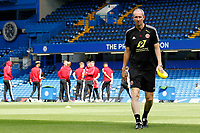 Sheffield United assistant manager Alan Knill during the Premier League match between Chelsea and Sheff United at Stamford Bridge, London, England on 31 August 2019. Photo by Carlton Myrie / PRiME Media Images.