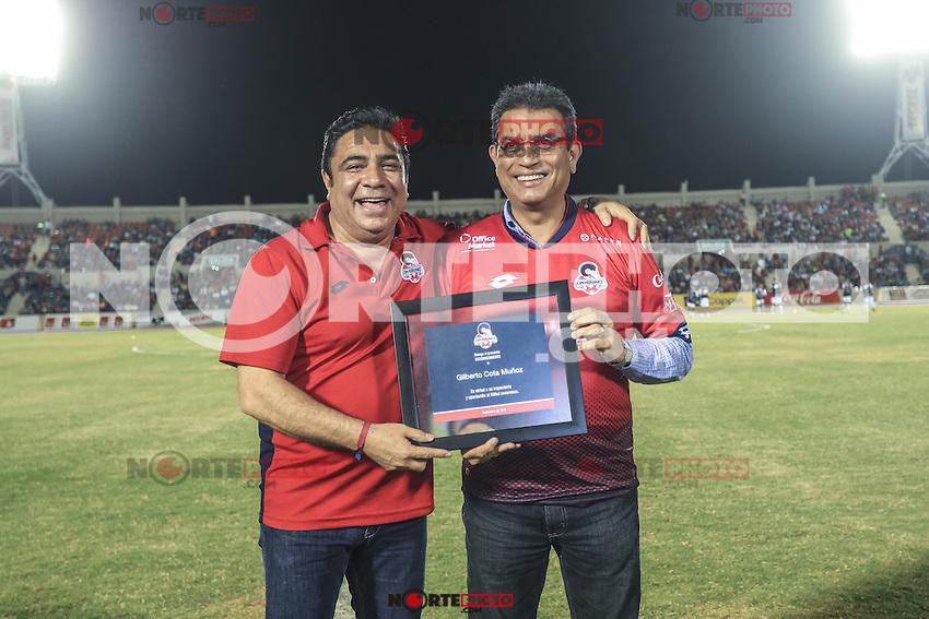 Servando Carbajal director e Super del Norte.<br /> CimarronesFC vs Loros de Colima<br /> &copy; Foto: LuisGutierrez/NORTEPHOTO.COM