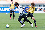 Urawa Reds Midfielder Kashiwagi Yosuke (L) and Urawa Reds Midfielder Komai Yoshiaki (R) during the training session prior to the AFC Champions League 2017 Round of 16 match between Jeju United FC (KOR) and Urawa Red Diamonds (JPN) at the Jeju Sports Complex on 23 May 2017 in Jeju, South Korea. Photo by Yu Chun Christopher Wong / Power Sport Images