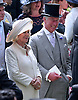 "PRINCE CHARLES AND CAMILLA.Royal Ascot Day 1, Ascot_19/06/2012.Mandatory Photo Credit: ©SBP/NEWSPIX INTERNATIONAL..**ALL FEES PAYABLE TO: ""NEWSPIX INTERNATIONAL""**..PHOTO CREDIT MANDATORY!!: Newspix International(Failure to credit will incur a surcharge of 100% of reproduction fees)..IMMEDIATE CONFIRMATION OF USAGE REQUIRED:.Newspix International, .31 Chinnery Hill, Bishop's Stortford, ENGLAND CM23 3PS..Tel:+441279 324672  ; Fax: +441279656877..Mobile:  0777568 1153..e-mail: info@newspixinternational.co.uk"