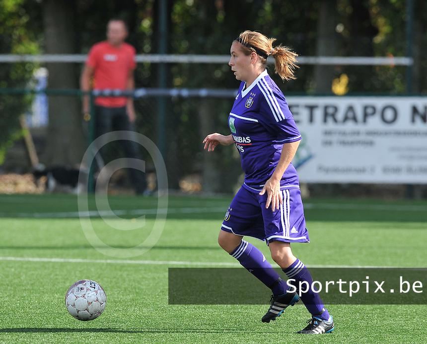 Dames Zulte Waregem - RSC Anderlecht : Anne Puttemans.foto DAVID CATRY / Vrouwenteam.be