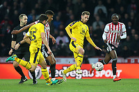 James Henry of Oxford United in possession during Brentford vs Oxford United, Emirates FA Cup Football at Griffin Park on 5th January 2019