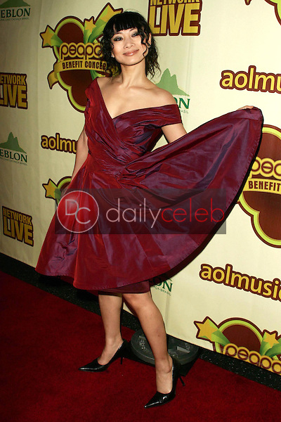 Bai Ling<br />at The Peapod Concert Benefit presented by The Peapod Foundation and Network Live. Henry Fonda Music Box Theater, Los Angeles, CA 02-06-06<br />Dave Edwards/DailyCeleb.com 818-249-4998