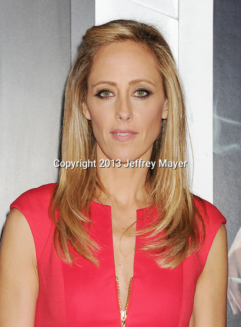 HOLLYWOOD, CA - JANUARY 07: Kim Raver arrives at the 'Gangster Squad' - Los Angeles Premiere at Grauman's Chinese Theatre on January 7, 2013 in Hollywood, California.