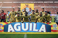 CUCUTA - COLOMBIA, 26-01-2019: Jugadores de Rionegro posan para una foto previo al partido por la fecha 1 entre Cúcuta Deportivo y Rionegro Águilas como parte de la Liga Águila I 2019 jugado en el estadio General Santander de la ciudad de Cúcuta. / Players of Rionegro pose to a photo prior the match for the date 1 between Cucuta Deportivo y Rionegro Aguilas as a part of Aguila League I 2019 played at General Santander stadium in Cucuta city. Photo: VizzorImage / Manuel Hernandez / Cont