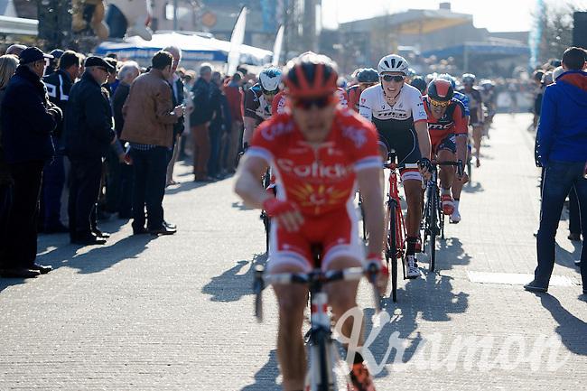 Danny Van Poppel (NLD/Trek Factory Racing) rolling out after winning stage 2<br /> <br /> 3 Days of West-Flanders 2015<br /> stage 2: Nieuwpoort - Ichtegem 184km