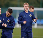 02.09.2019 Scotland u-21 training, Oriam, Edinburgh.<br /> Ross McCrorie of Rangers FC (on loan to Portsmouth) during training ahead of the upcoming UEFA European Under-21 Championship Qualifier against San Marino this Thursday evening in Paisley.
