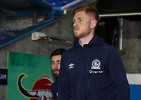 Blackburn Rovers' Harrison Reed pictured before the match <br /> <br /> Photographer Andrew Kearns/CameraSport<br /> <br /> The EFL Sky Bet Championship - Reading v Blackburn Rovers - Wednesday 13th February 2019 - Madejski Stadium - Reading<br /> <br /> World Copyright © 2019 CameraSport. All rights reserved. 43 Linden Ave. Countesthorpe. Leicester. England. LE8 5PG - Tel: +44 (0) 116 277 4147 - admin@camerasport.com - www.camerasport.com