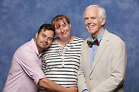 Jeremy Bulloch and Daniel Logan