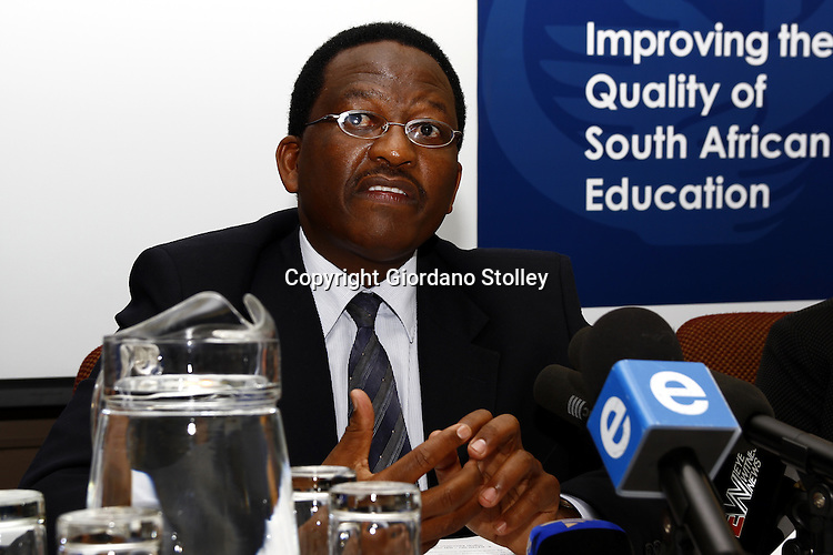 PRETORIA - 30 December 2010 - Professor Sizwe Mabizela the chairman of Umalusi, the Council for Quality Assurance in General and Further Education and Training, explains why Umalusi has approved the release of the 2010 South African school leavers examination results. -- APP/Allied Picture Press