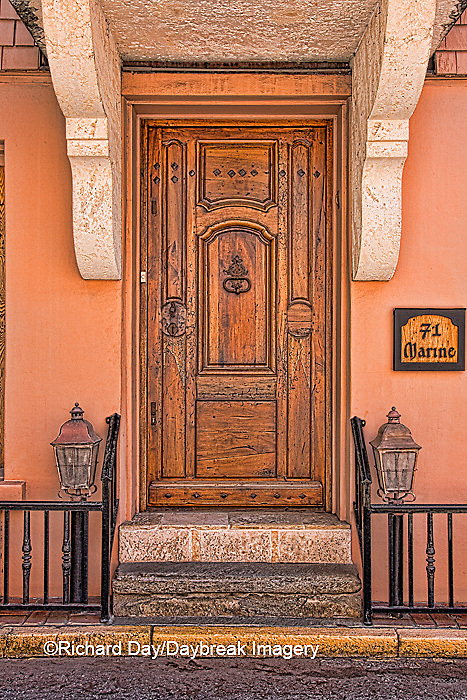 63412-01116 Brown door in St Augustine, FL