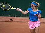 May 25, 2016:  Svetlana Kuznetsova (RUS) defeated Heather Watson (GBR) 6-1, 6-3, at the Roland Garros being played at Stade Roland Garros in Paris, .  ©Leslie Billman/Tennisclix/CSM