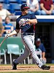 6 March 2007: Atlanta Braves left fielder Scott Thorman in Grapefruit League action against the Washington Nationals at Space Coast Stadium in Viera, Florida.<br /> <br /> Mandatory Photo Credit: Ed Wolfstein Photo