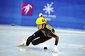 Takahiro Fujimoto (JPN), FEBRUARY 1, 2011 - Short Track : the men's 500m short track skating preliminaries during the 7th Asian Winter Games in Astana, Kazakhstan. (Photo by AFLO) [0006]