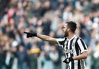 Calcio, Serie A: Juventus - Sassuolo, Torino, Allianz Stadium, 4 Febbraio 2018. <br /> Juventus' Miralem Pjanic celebrates after scoring during the Italian Serie A football match between Juventus and Sassuolo at Torino's Allianz stadium, February 4, 2018.<br /> UPDATE IMAGES PRESS/Isabella Bonotto