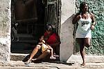 Moni e Simone. Ocupação Mama África, Niterói, Rio de Janeiro.