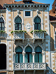 Windows, Along the Grand Canal and waterways of Venice, Italy