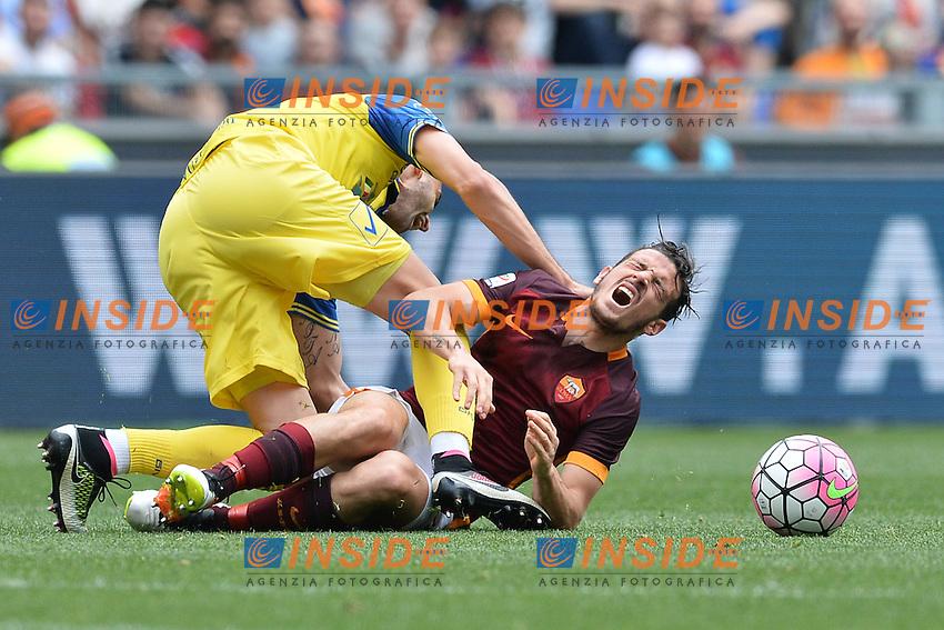 Alessandro Florenzi Roma.<br /> Roma 8-05-2016  Stadio Olimpico<br /> Campionato Serie A,<br /> AS Roma - Chievo<br /> Foto Antonietta Baldassarre / Insidefoto