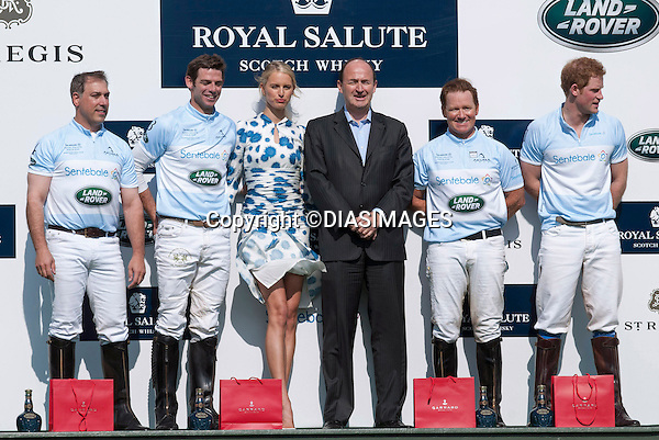 "PRINCE HARRY AND KAROLINA KURKOVA (Blowing Dress).at the presentation of the prizes at the end of the Sentabale Charity Polo Match at the Greenwich Polo Club, Conneticut_15/05/2013.Prince Harry is on a week long USA visit the includes Washington, Denver, Colorado Springs, New Jersey, New York and Conneticut..Mandatory credit photo:©DIASIMAGES..(Failure to credit will incur a surcharge of 100% of reproduction fees)..**ALL FEES PAYABLE TO: ""NEWSPIX  INTERNATIONAL""**..Newspix International, 31 Chinnery Hill, Bishop's Stortford, ENGLAND CM23 3PS.Tel:+441279 324672.Fax: +441279656877.Mobile:  07775681153.e-mail: info@newspixinternational.co.uk"