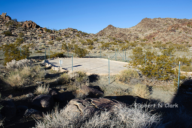 Mojave Desert near Barstow, prime Chukar habitat, Guzzler