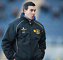 Dumbarton Manager Ian Murray.