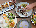 Uber Eats food photography featuring Bay Area restaurants.<br />