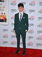 LOS ANGELES, CA. November 16, 2016: Actor Lucas Jade Zumann at the gala screening for &quot;20th Century Women&quot;, part of the AFI FEST 2016, at the TCL Chinese Theatre, Hollywood.<br /> Picture: Paul Smith/Featureflash/SilverHub 0208 004 5359/ 07711 972644 Editors@silverhubmedia.com