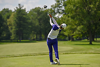 Sung Hyun Park (KOR) watches her tee shot on 11 during round 3 of the 2018 KPMG Women's PGA Championship, Kemper Lakes Golf Club, at Kildeer, Illinois, USA. 6/30/2018.<br /> Picture: Golffile | Ken Murray<br /> <br /> All photo usage must carry mandatory copyright credit (&copy; Golffile | Ken Murray)