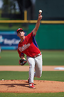 Philadelphia Phillies pitcher Matthew Imhof (48) during an instructional league game against the New York Yankees on September 29, 2015 at Brighthouse Field in Clearwater, Florida.  (Mike Janes/Four Seam Images)
