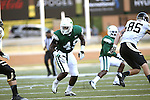 DENTON, TX - AUGUST 31: North Texas Mean Green defensive end Daryl Mason (49) of the North Texas Mean Green Football vs Idaho Vandals at Apogee Stadium in Denton on August 31, 2013 in Denton, Texas. Photo by Rick Yeatts